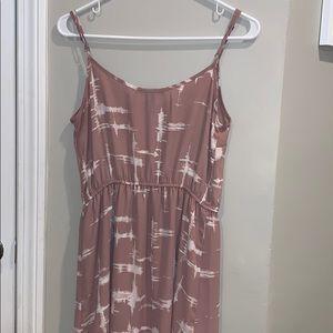 Forever21 dusty rose maxi dress, medium
